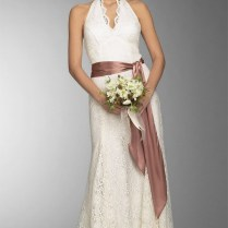 Two Pieces Silver Tulle Bridesmaid Dress