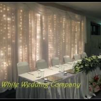 Wedding Backdrop Swag 3x3m Wedding Backdrop Curtains Fabric
