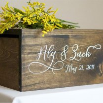 Wedding Card Box Money Box Rustic Wedding Rustic Card Box