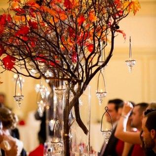 Wedding Centerpiece Autumn Branches