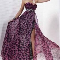 Wedding Dresses With Cheetah Print