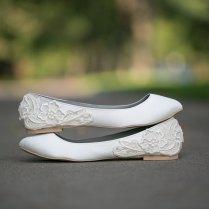 Wedding Flats Ivory Wedding Flats Wedding Shoes Ivory