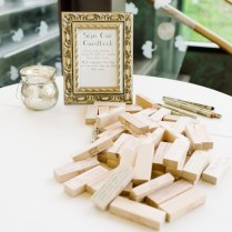 Wedding Guest Book Ideas Jenga Wedding Inspiring Wedding Card Design