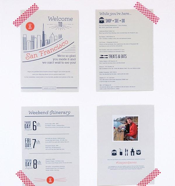 Welcome Letter, Wedding Welcome Letter, Wedding Itinerary, Hotel