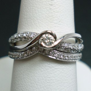 White Gold And Platinum Wedding Rings