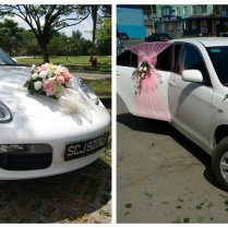 Why And When To Decorate The Getaway Car Weddingelation Wedding