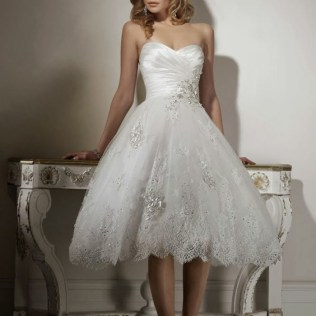Why You Choose Short Wedding Dresses»interclodesigns