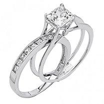 Wonderful Engagement Ring Slides Into Wedding Band 3 17 Best