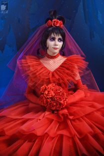 Lydia Beetlejuice Wedding Dress