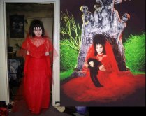 Lydia Deetz Wedding Costume By Emilyscissorhands On Deviantart