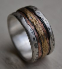 Mens Country Wedding Bands 9835