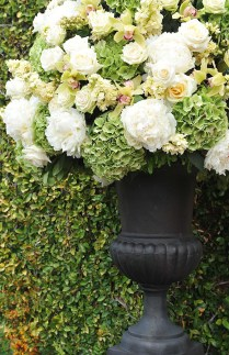Opulent Wedding Floral Topiaries