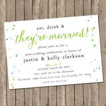 Post Wedding Brunch Invitations Post Wedding Brunch Invitations