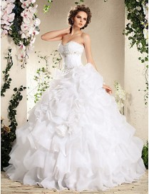 Wedding Dress Ruffles