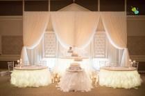 Wedding Head Table Setup 4272