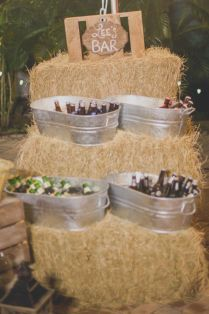 Western Wedding On A Budget Best 25 Wedding Hay Bales Ideas On