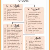 10 Wedding Checklist Timeline