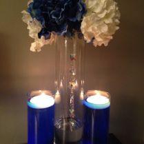 13 Best June 2015 Royal Blue Wedding Centerpiece Samples Images