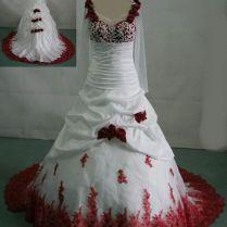 180 Best Red Red & White Wedding Dress Images On Emasscraft Org
