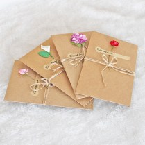 1pcs Sample Craft Paper Flower Wedding Invitations Card
