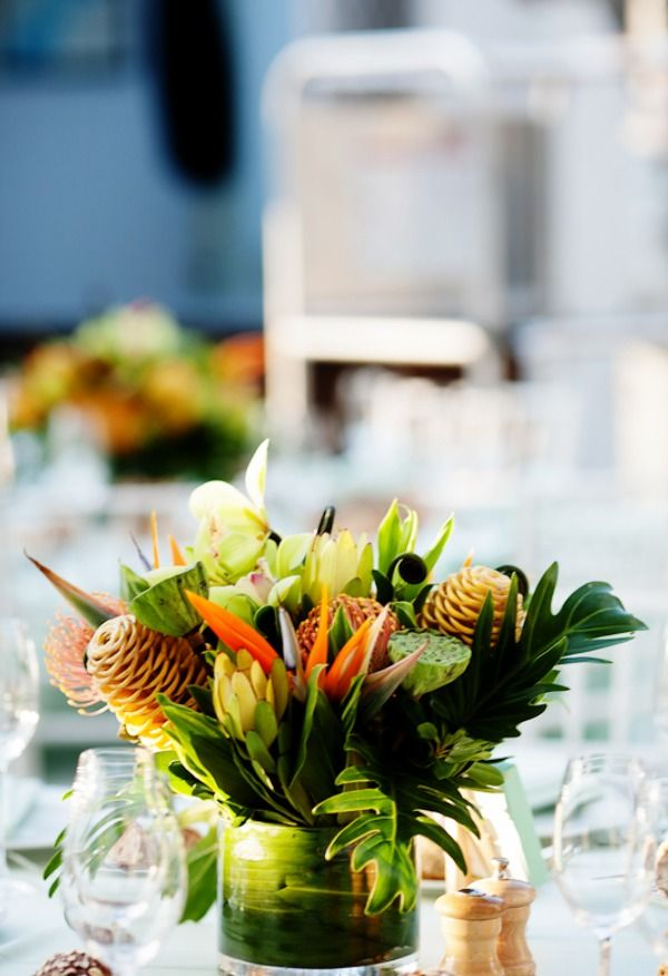 Tropical Wedding Ideas Reception Incredible Themed Wedding Reception