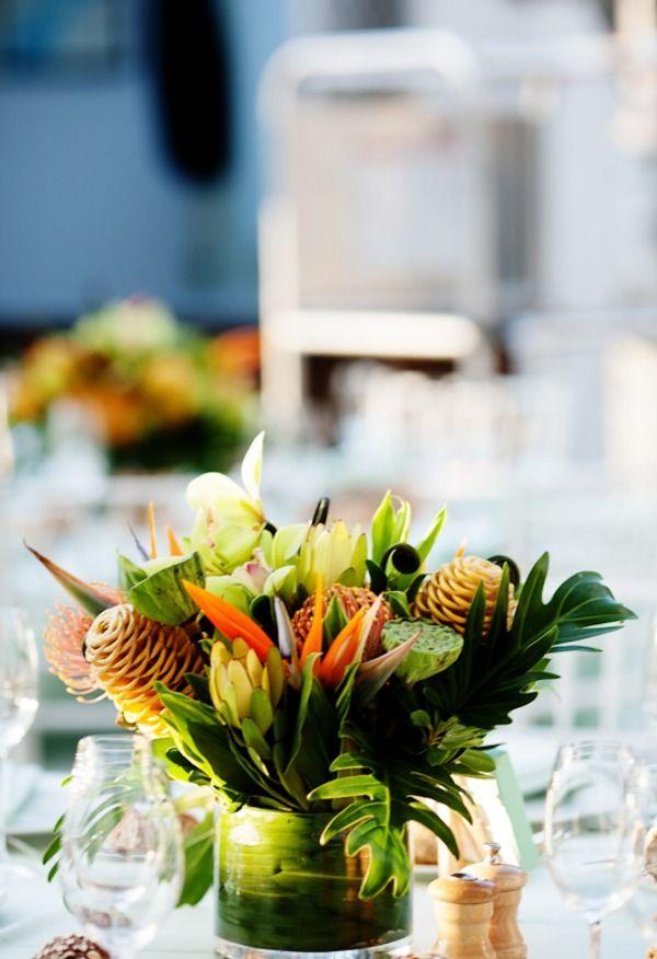 Tropical Wedding Ideas Reception