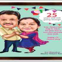 25th Wedding Anniversary Gifts For Parents Evgplc Com