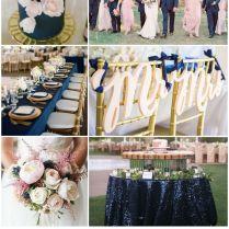 46 Best Navy Blue, Blush, & Gold Wedding Images On Emasscraft Org