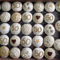 50th Birthday Cupcakes Decorations