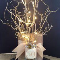 50th Wedding Anniversary Centerpiece Ideas 50th Anniversary Paper