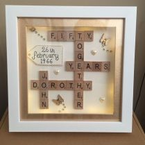 50th Wedding Anniversary Gift Ideas For Parents Best 25 50th