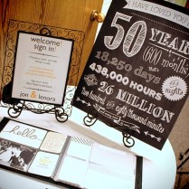 50th Wedding Anniversary Party Decoration Ideas — Criolla Brithday