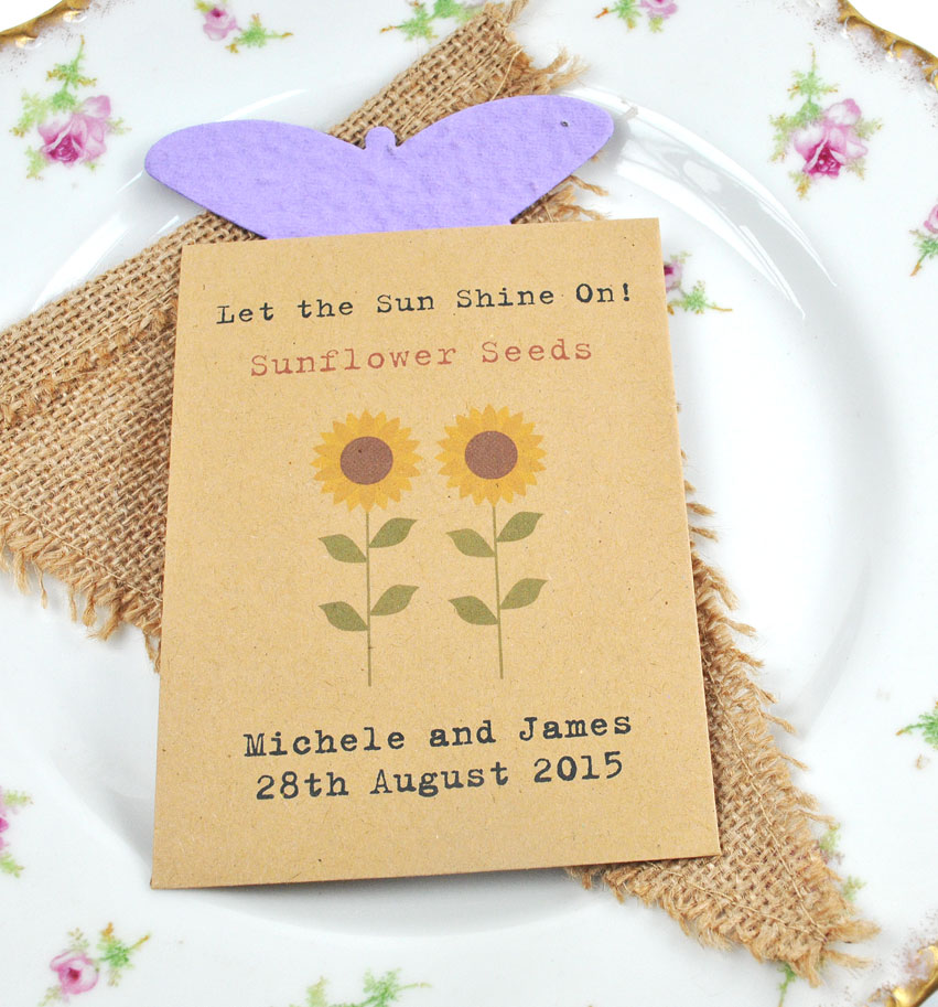 Sunflower Wedding Favor Ideas: Sunflower Wedding Favor Ideas
