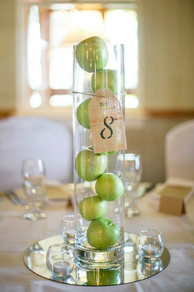 Apple Green Wedding Decorations