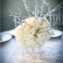 Attractive Winter Centerpiece Ideas For Wedding 1000 Ideas About