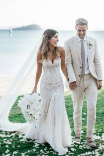 Awesome Hawaiian Themed Wedding Dresses 80 About Remodel Ball Gown
