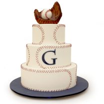 Baseball Themed Wedding Cake » Wedding Cakes