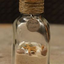 Beach Wedding Favors! Have The Guests Fill The Bottle With Sand