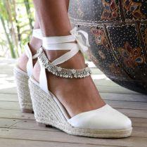 Beach Wedding Shoes Wedges