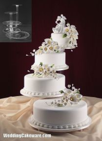 Beautiful Cake Stands For Wedding Cakes B40 In Pictures Collection