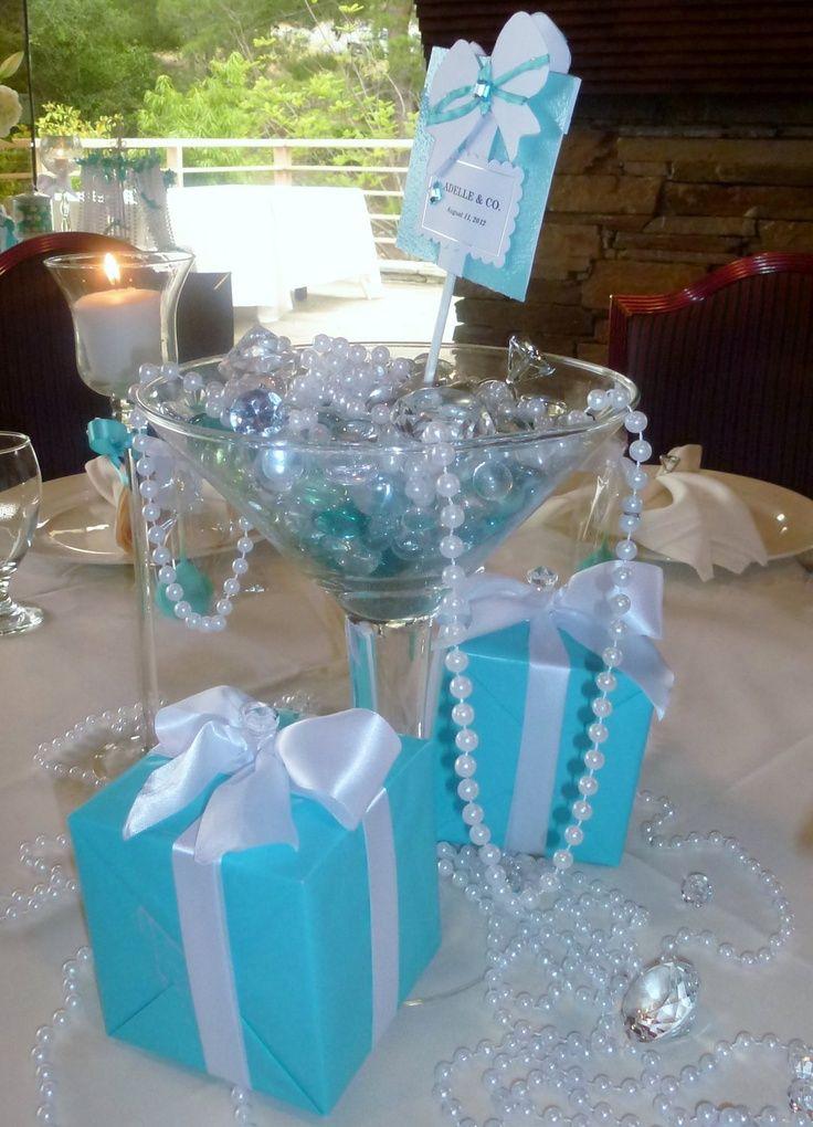 Tiffany Blue Wedding Centerpieces