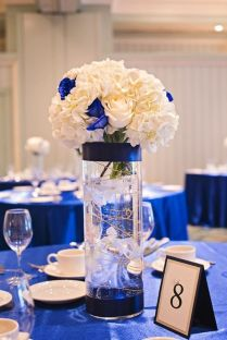 Best 25 Blue Wedding Centerpieces Ideas On Emasscraft Org