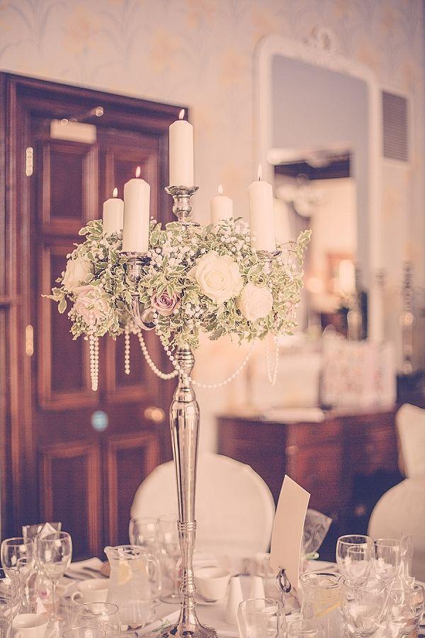 Flower Candelabra Centerpieces Wedding