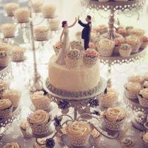Best 25 Cupcake Wedding Cakes Ideas On Emasscraft Org