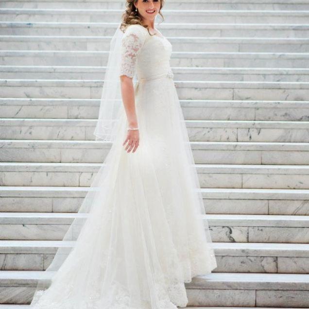 Best 25 Modest Wedding Gowns Ideas On Emasscraft Org Modest Wedding Lds