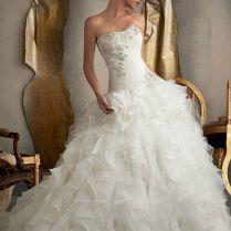Best 25 Ruffle Wedding Dresses Ideas On Emasscraft Org Images Of