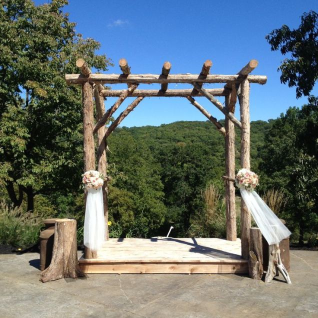 Best 25 Rustic Wedding Arbors Ideas On Emasscraft Org