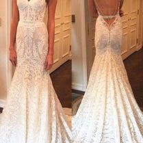 Best 25 Spaghetti Strap Wedding Dress Ideas On Emasscraft Org