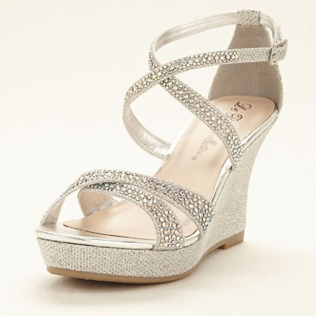 Best 25 Wedge Wedding Shoes Ideas On Emasscraft Org Bridal Wedges