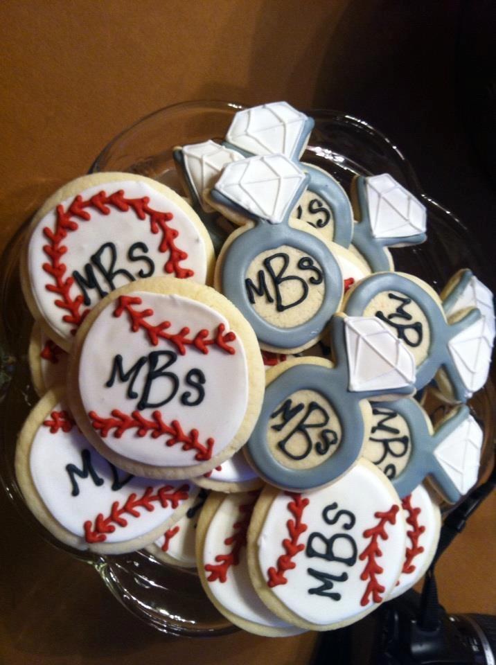 Baseball Themed Wedding Shower